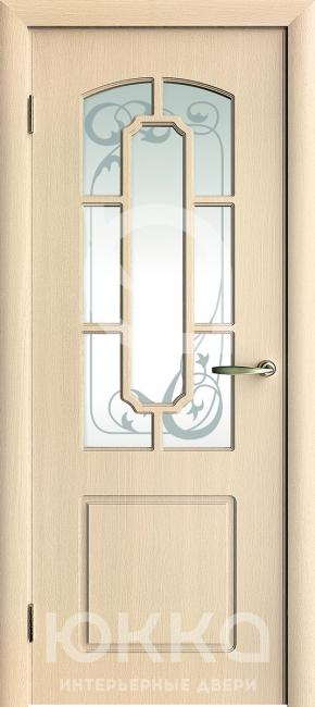 Межкомнатная дверь М4 с решеткой